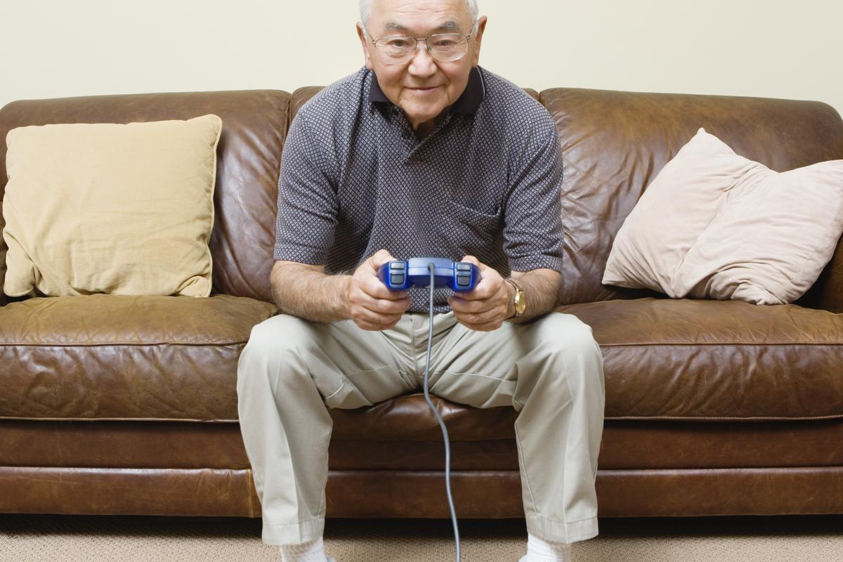 Seniors who played the Road Tour video game reportedly experienced an improvement in their cognitive skills (Photo: Shutterstock)