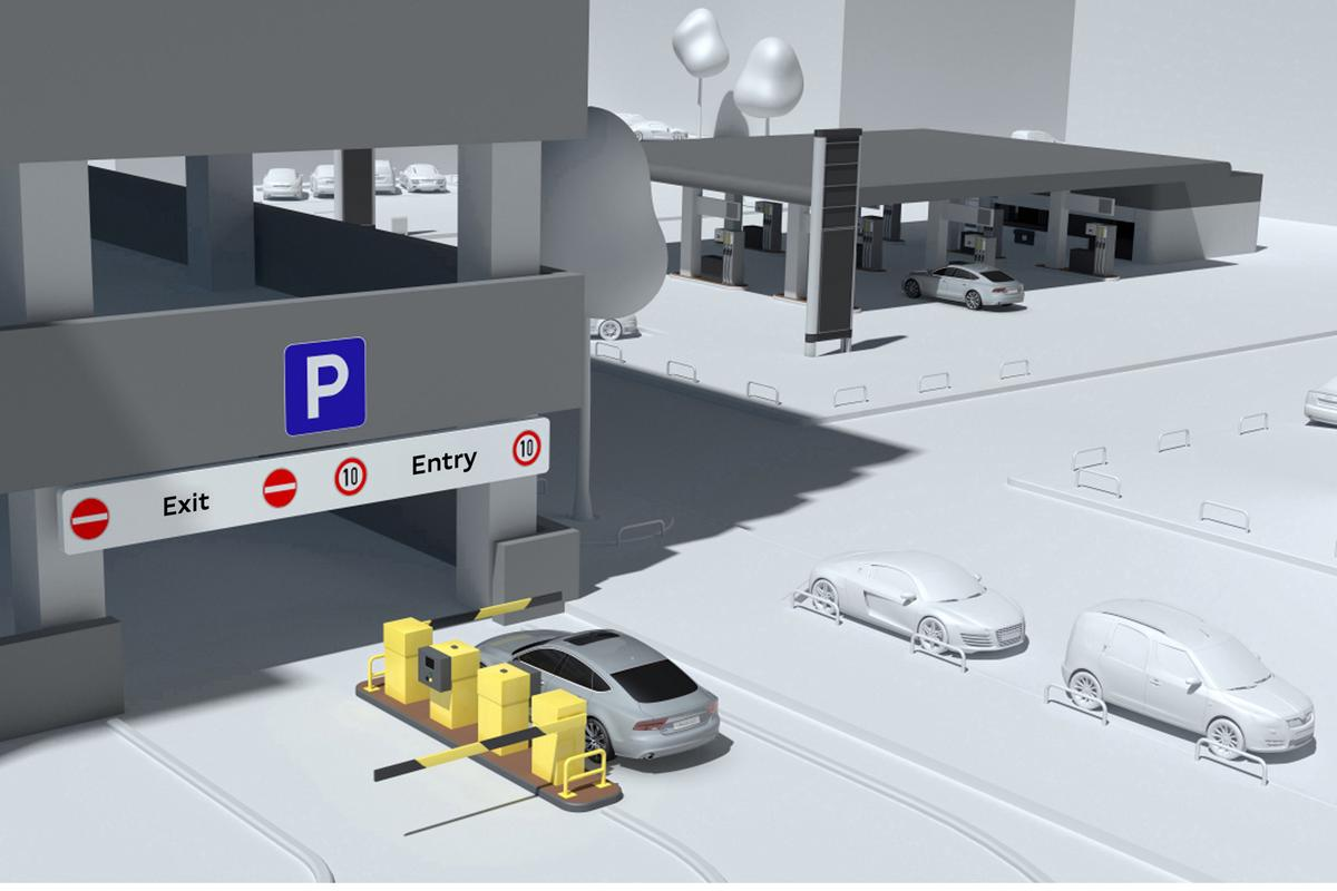 Audi's pilot system provides for wireless parking payments