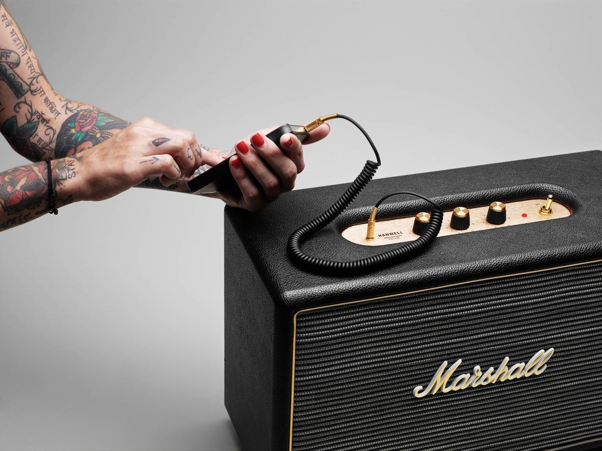 Marshall Headphones and Zound Industries have unveiled the Hanwell, a new Marshall-branded active loudspeaker headed for discerning living rooms in the near future