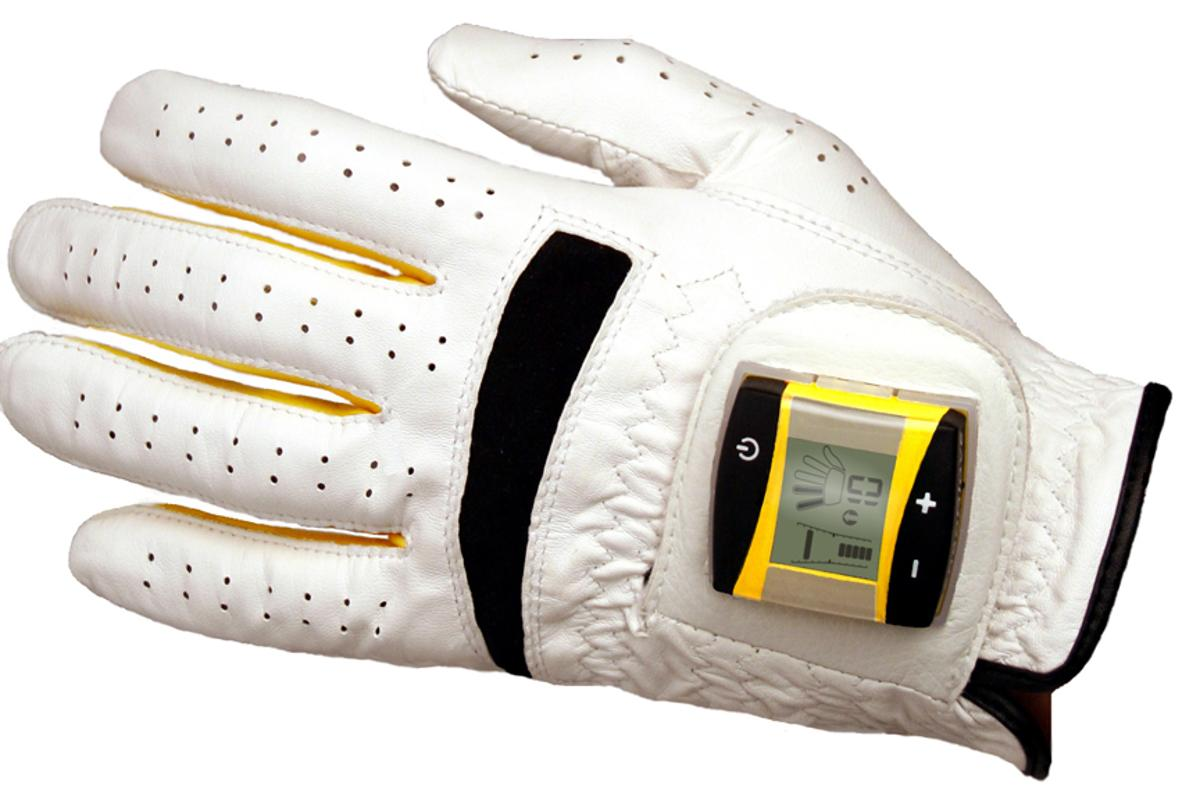 The SensoGlove digital golf glove