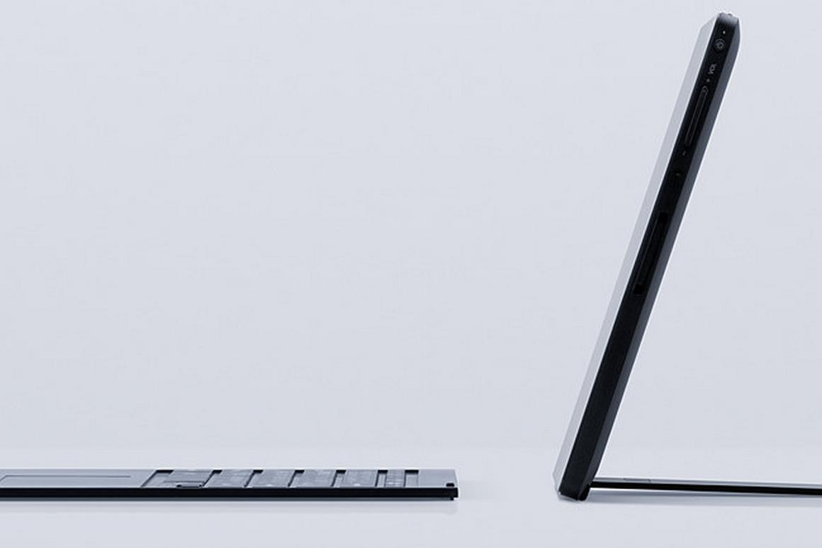 The unnamed Vaio hybrid is targeted at high-end professional users