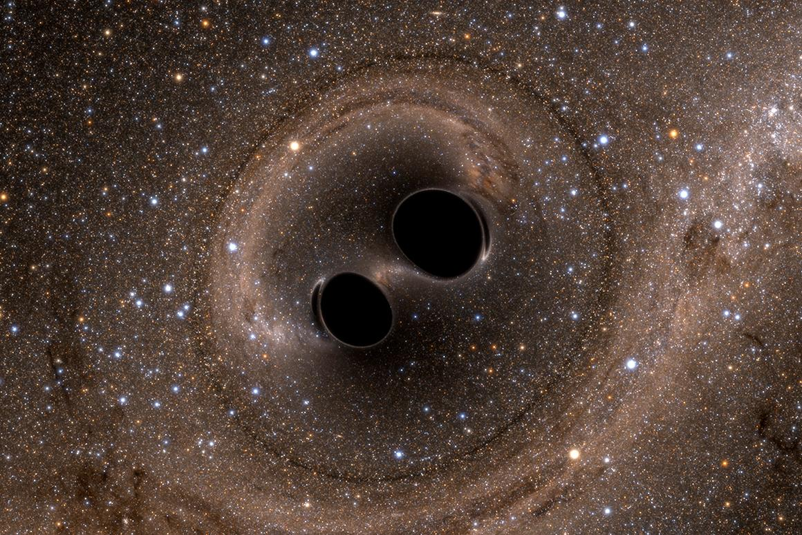 Astronomers have observed pairs of supermassive black holes closer to colliding than ever before