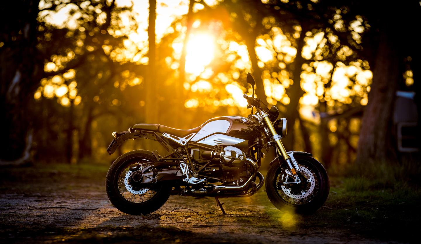 BMW's R nineT is the best looking bike in the BMW catalog, and a fine thing to ride as well (Photo: Loz Blain)