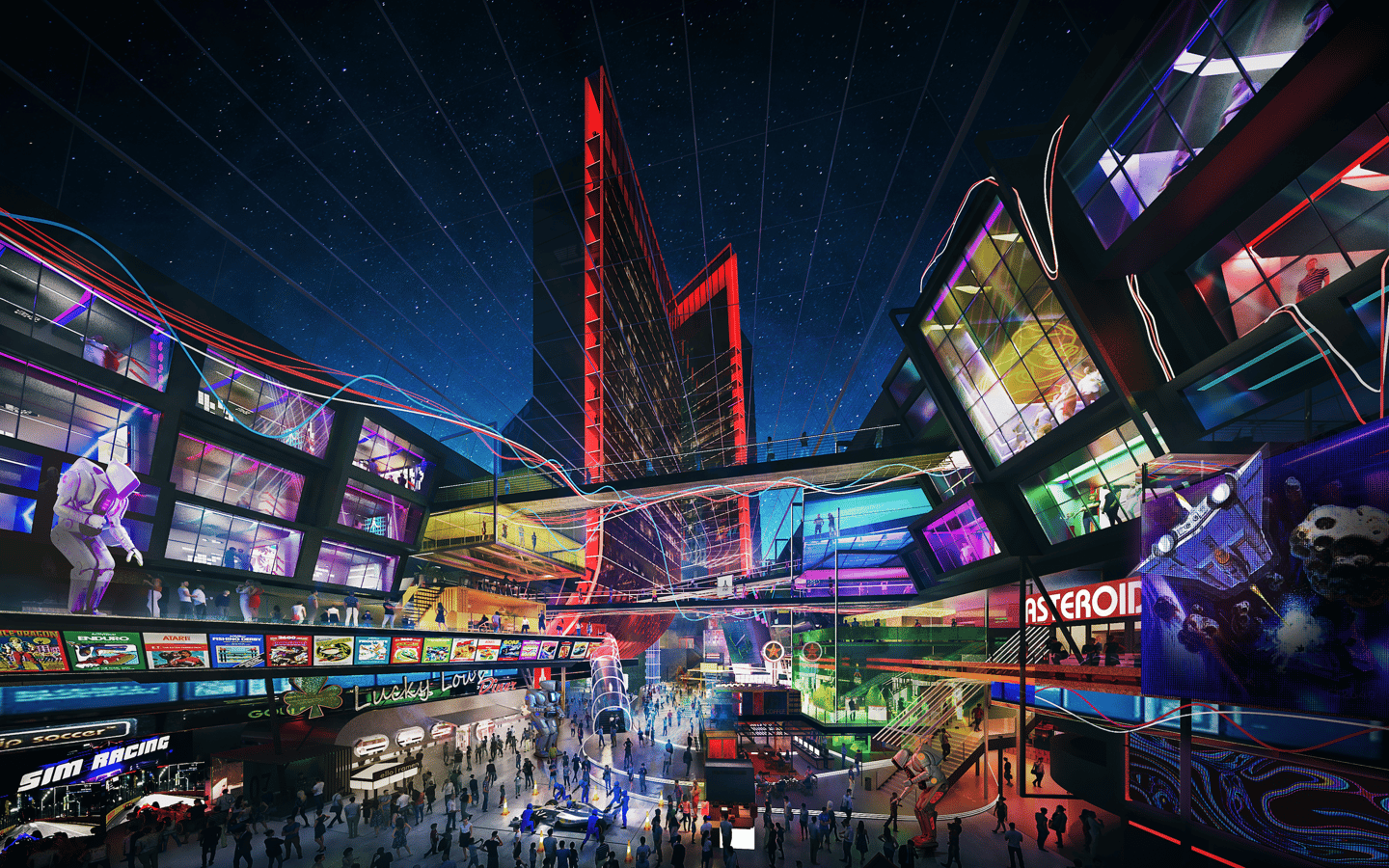 The Las Vegas Atari Hotel will offer video game-related entertainment, including VR, AR, and esports