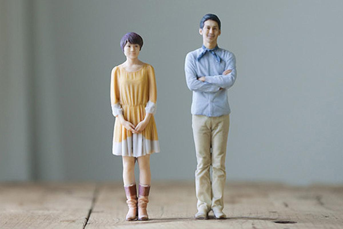 Otome 3D will open the world's first 3D printing photo booth in Japan from late November to January, 2013