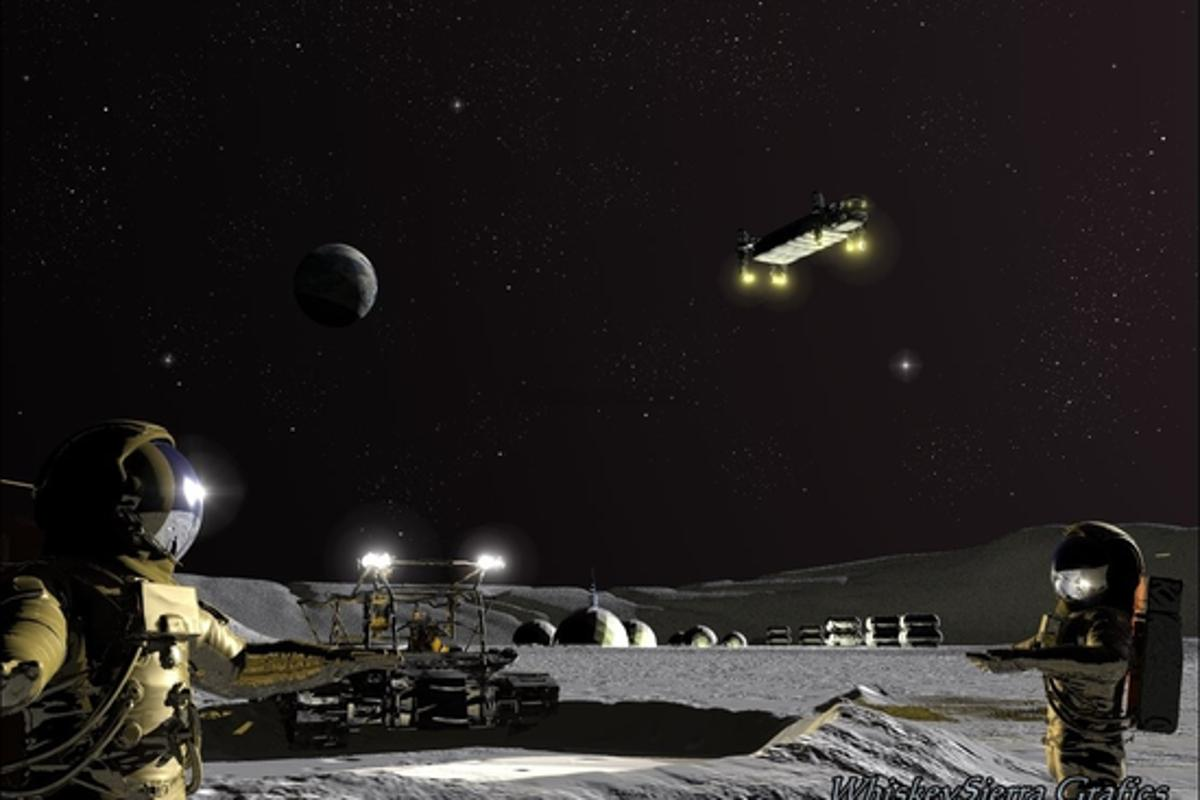 The Shackleton Energy Company (SEC) is looking to establish the first operational lunar base