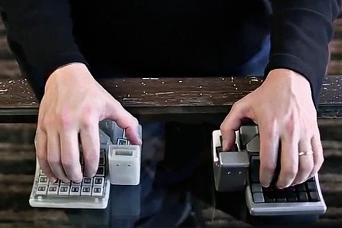 While the two devices when paired together allow extra functionality, they can also be used on their own as a single input device