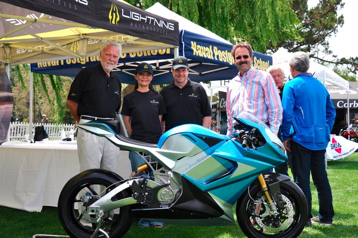 Lightning's LS-218 at the 2014 Quail Motorsport Gathering