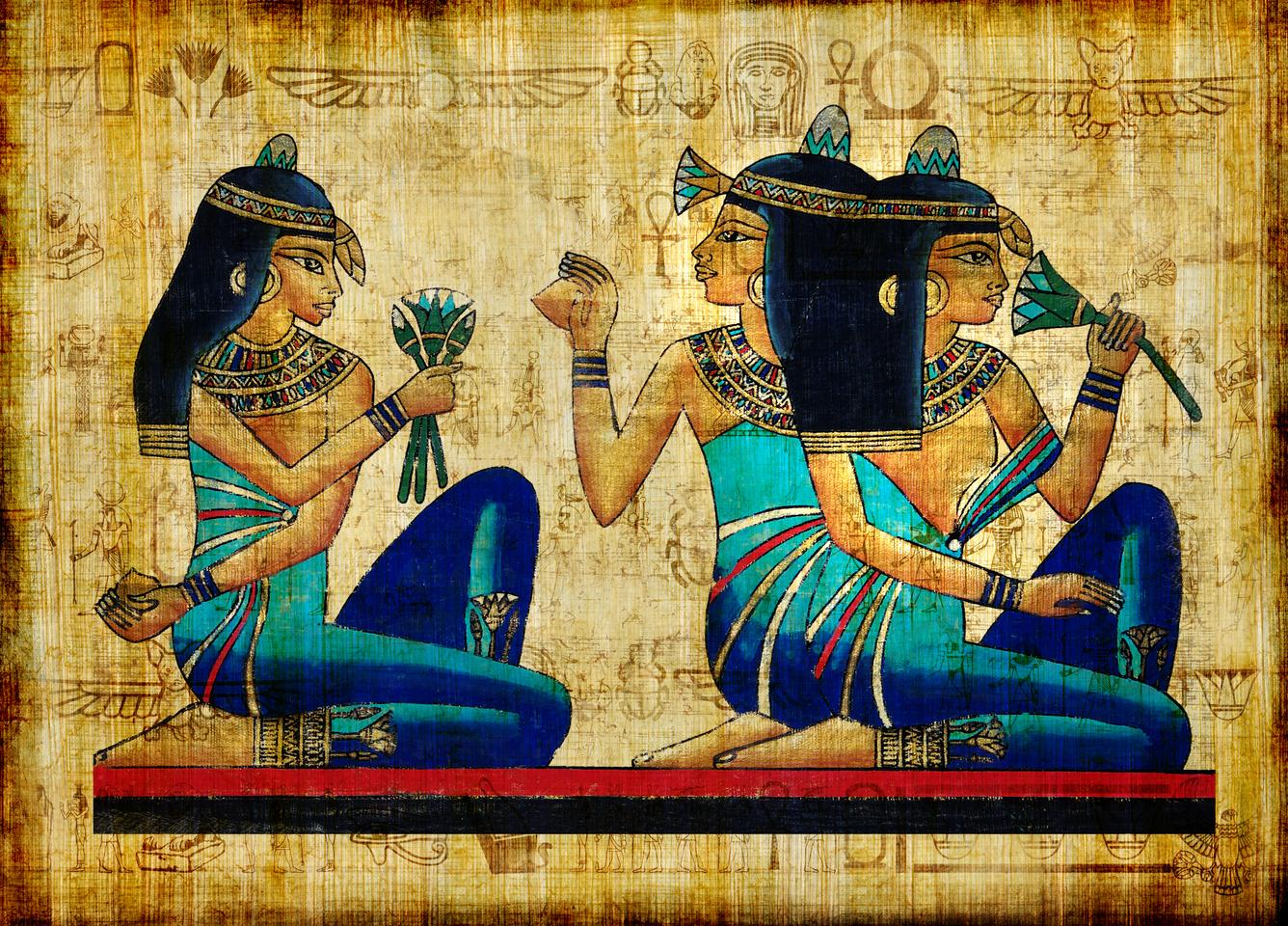 Egyptian blueis considered to be the world's first synthetic pigment