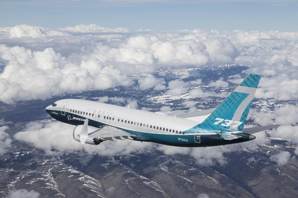 The 737 MAX 7 completed a successful first flight on Friday