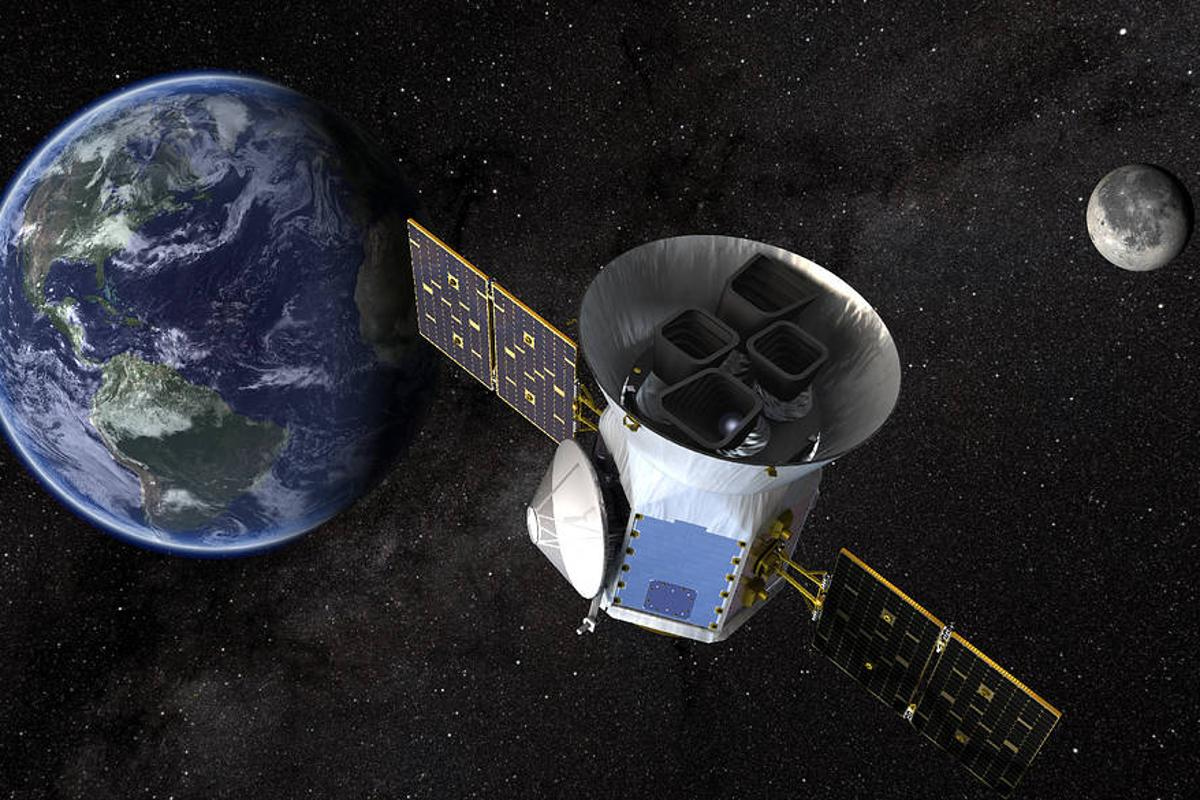 The Transiting Exoplanet Survey Satellite (TESS) will place wide-field cameras into high-Earth orbit