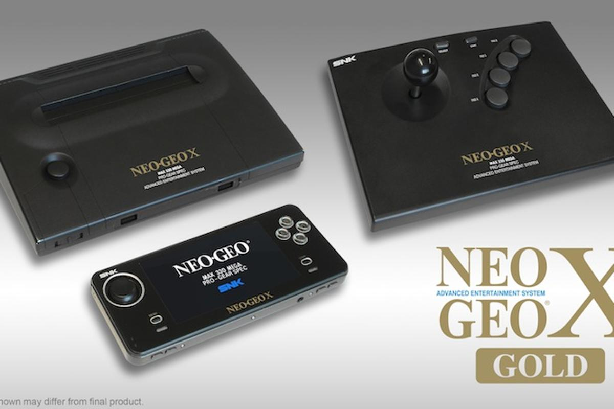 The Neo Geo X Gold comes with 20 classic titles, in addition to the Neo Geo X Joystick and Neo Geo X Station dock