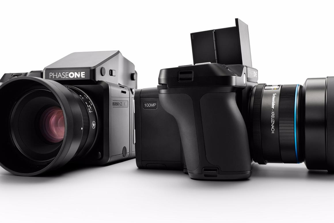 The Phase One XF 100MP Camera System features a 100-megapixel full frame medium format CMOS sensor