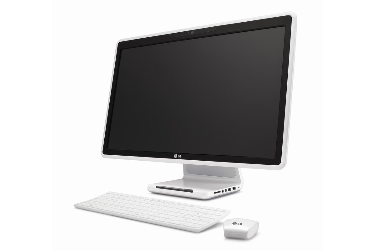 LG's first All-in-One desktop computer - the V300