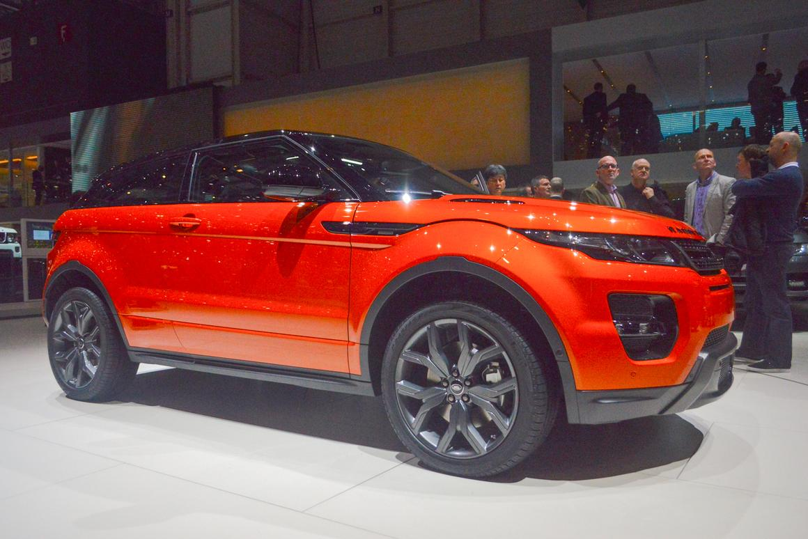 Zooming in on the Range Rover Evoque Autobiography Dynamic