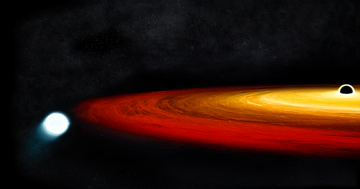 Brush with black hole may turn star into planet in a trillion years