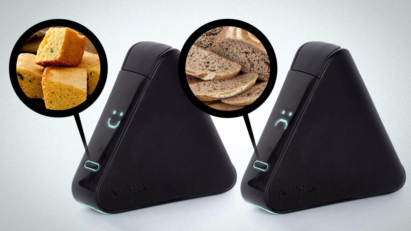 Developed by an MIT spinout company, the Nima sensor can pick out tiny amounts of gluten in just a few minutes
