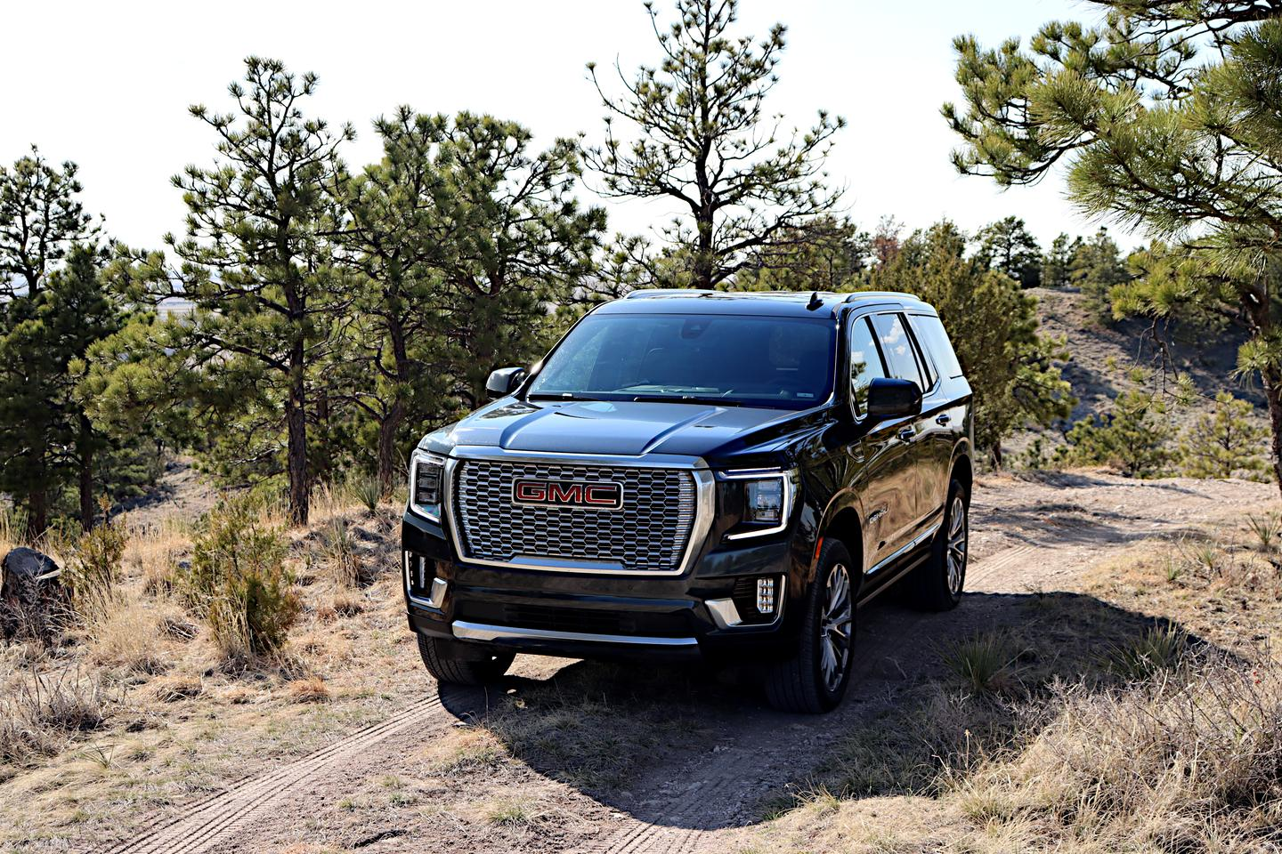 The GMC Yukon shares a platform with the lower-priced Chevrolet Suburban and the higher-priced Cadillac Escalade