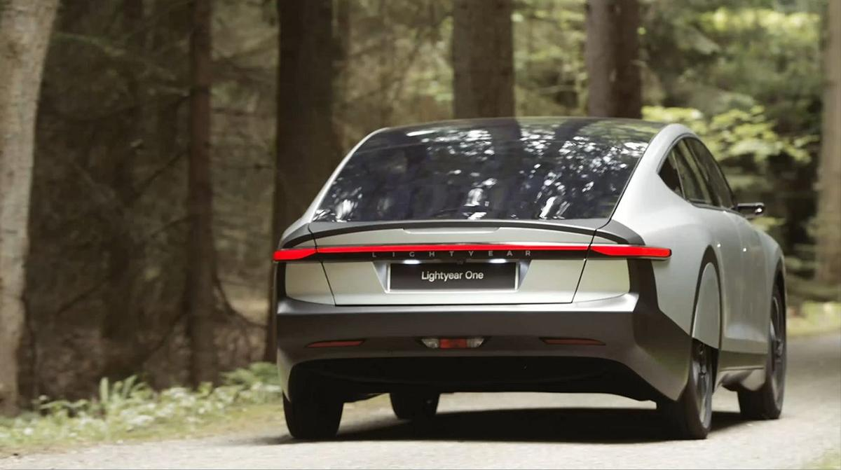 The Lightyear One will have five square meters of solar cells on its roof and hood
