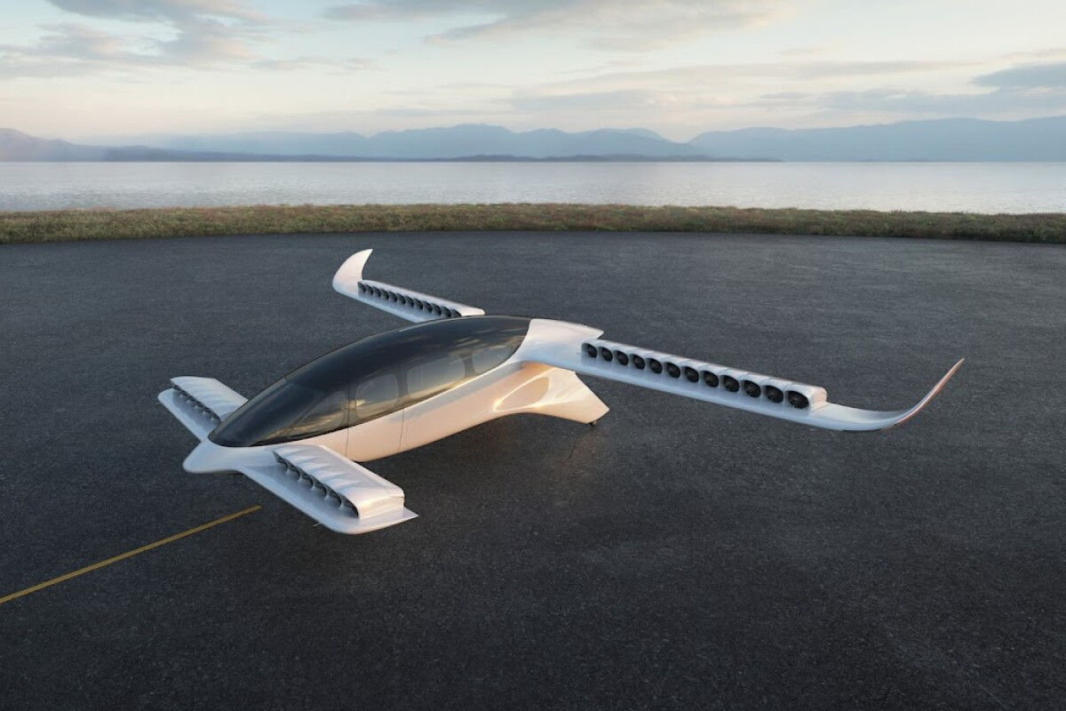Lilium's 7-seat air taxi design is quite a departure from the rest of the industry