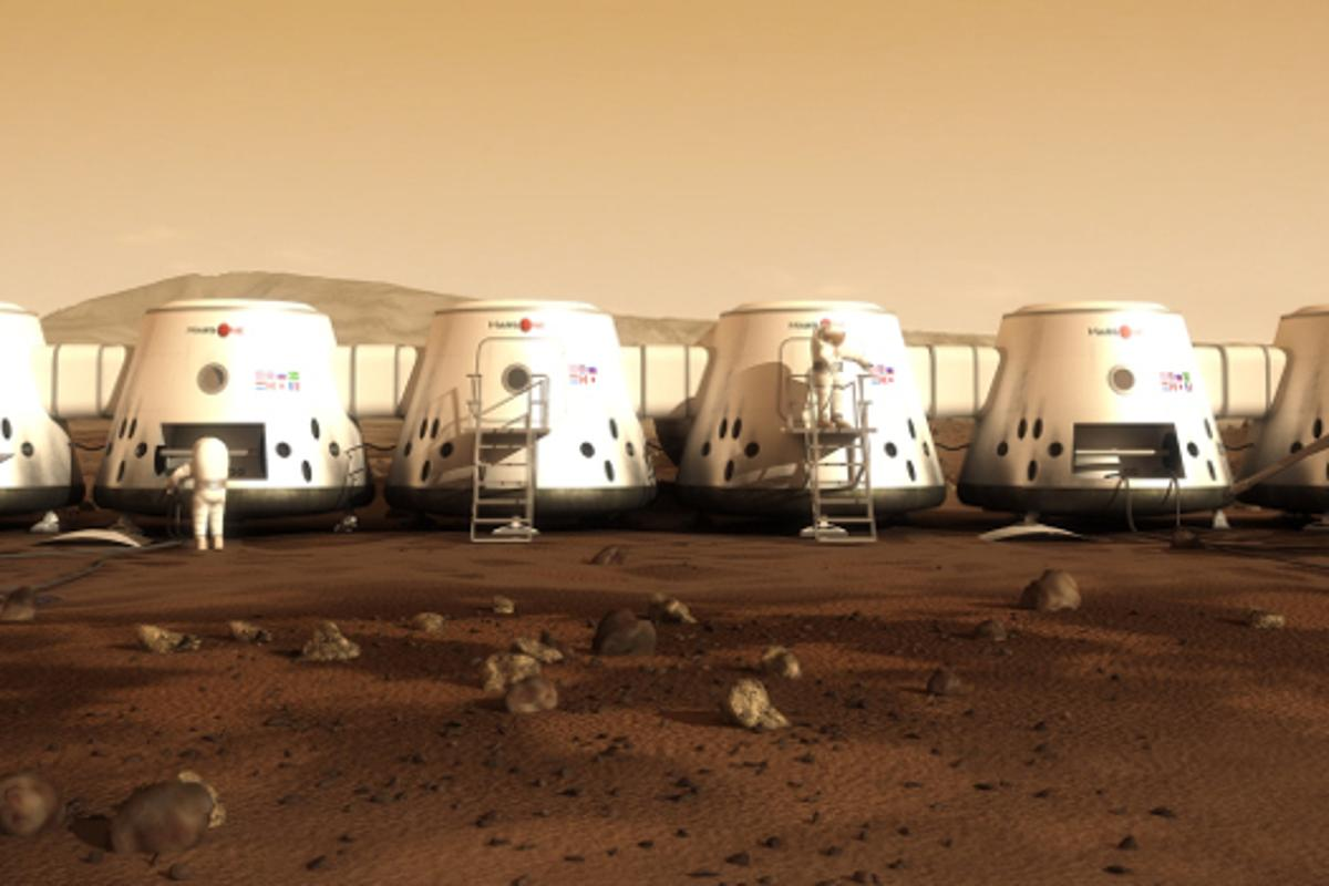 The pool of applicants for the Mars One mission has been reduced to 1,058
