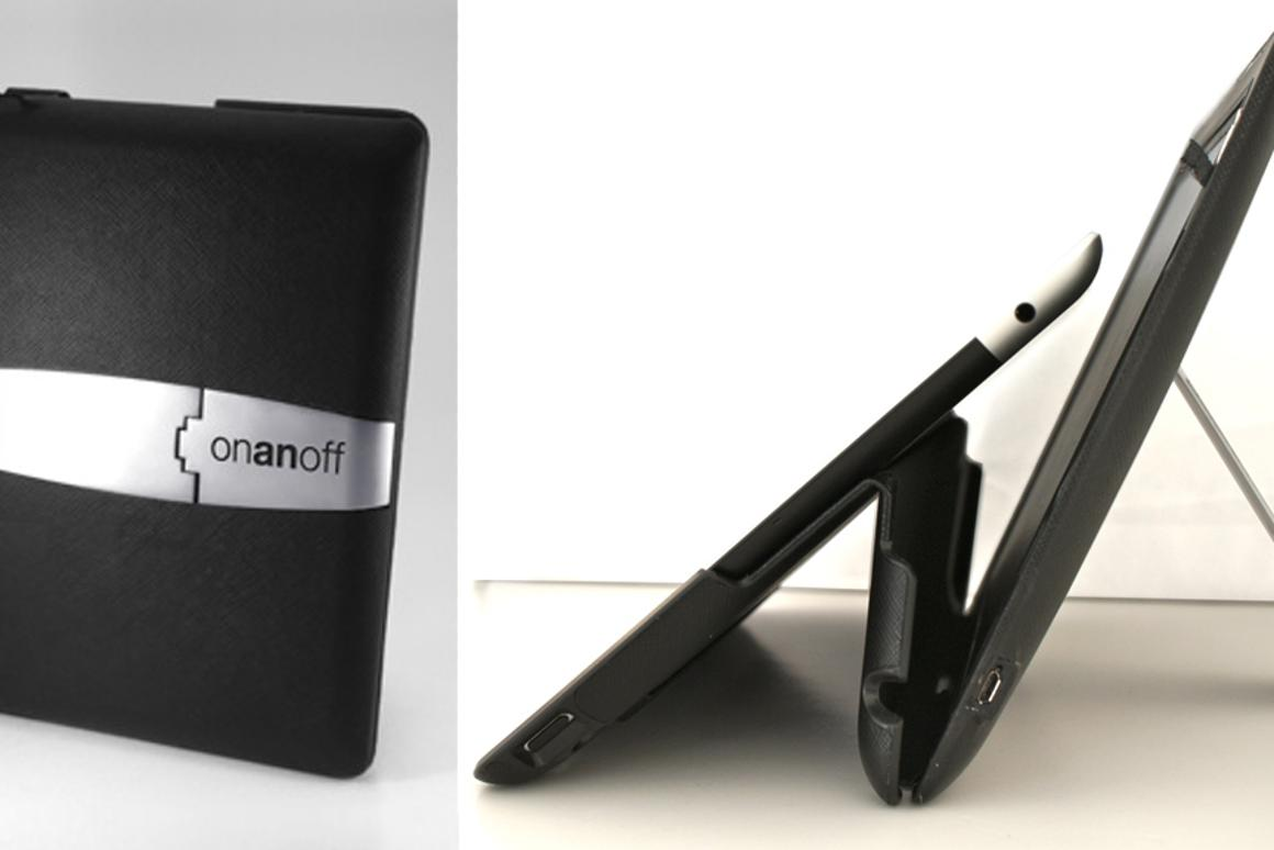The Sound Cover uses NXT speaker technology to add some audio oomph to an iPad in a thin case form factor