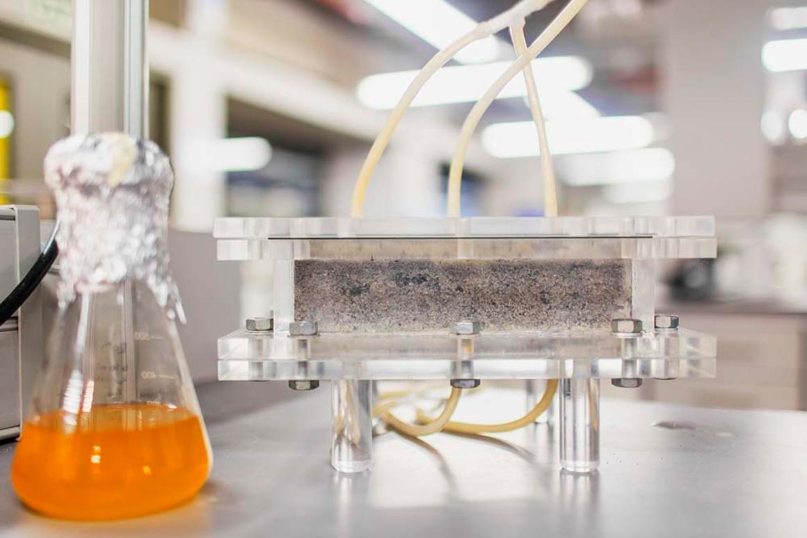 This technology leading to bricks made with human urinehas the potential to produce more than just environmentally friendly building materials