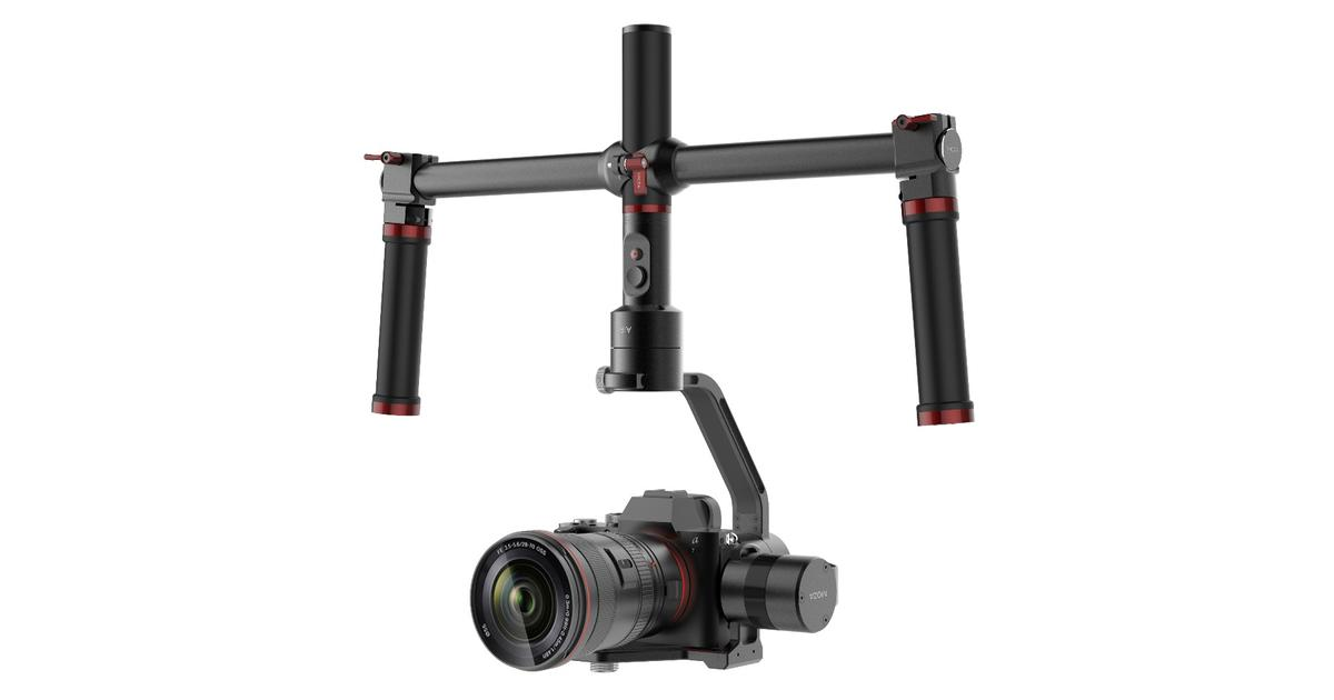 DSLR gimbal stabilizers get affordable with the Moza Air