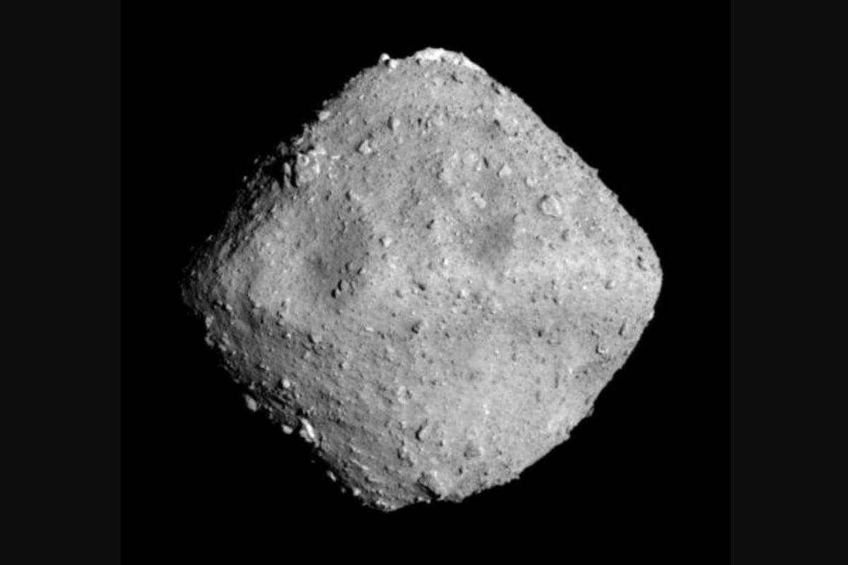 Image of asteroid Ryugu as captured by Hayabusa 2's Optical Navigation Camera at 12:50 p.m. JST on June 26,2018