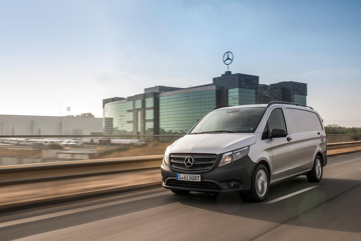 The Mercedes-Benz Vito