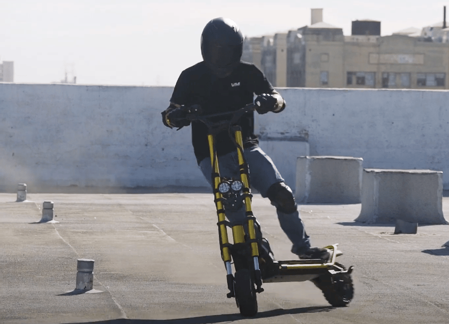 The new Wolf King debuts as one of the fastest on-/off-road scooters available