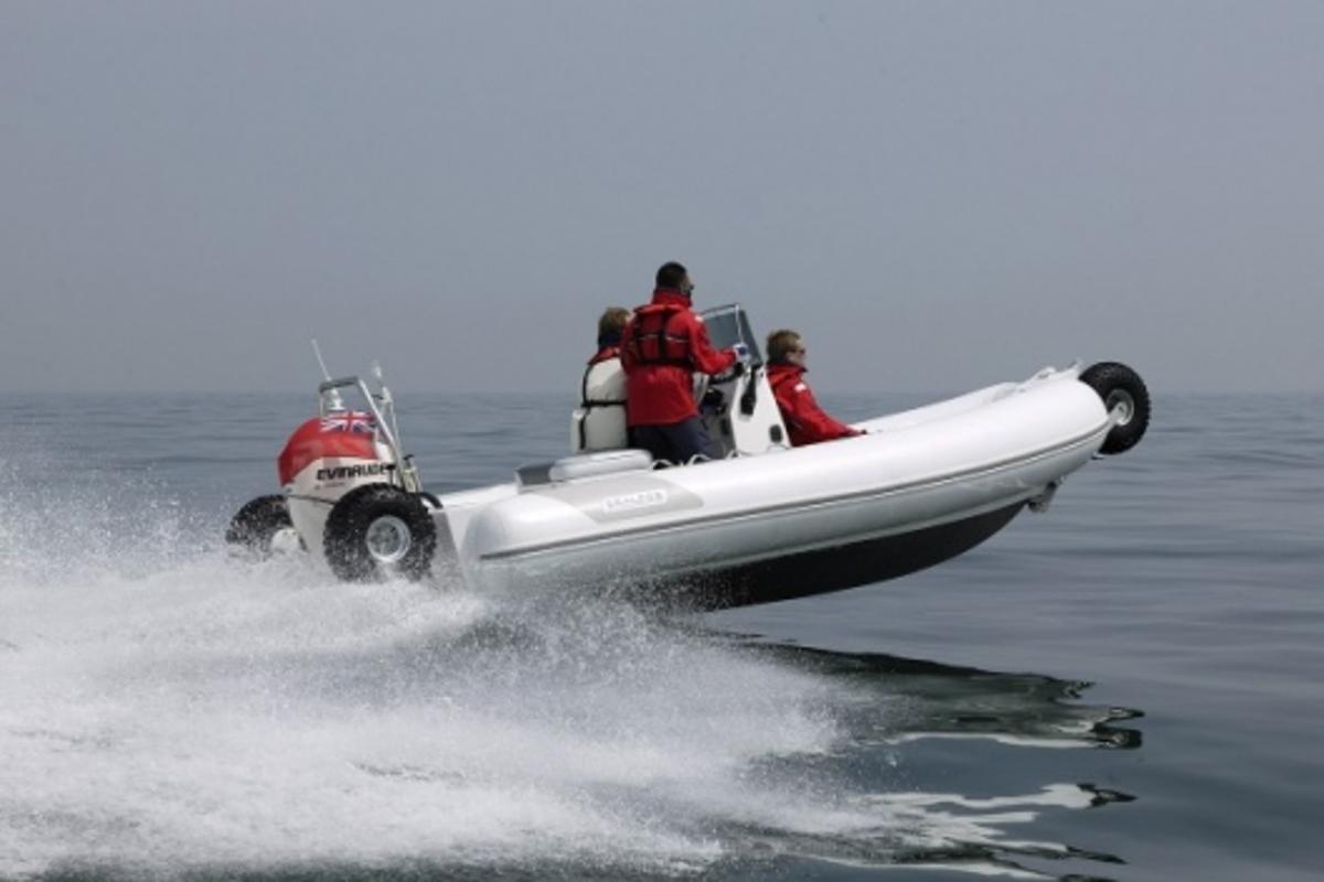 Sealegs Amphibious RIB