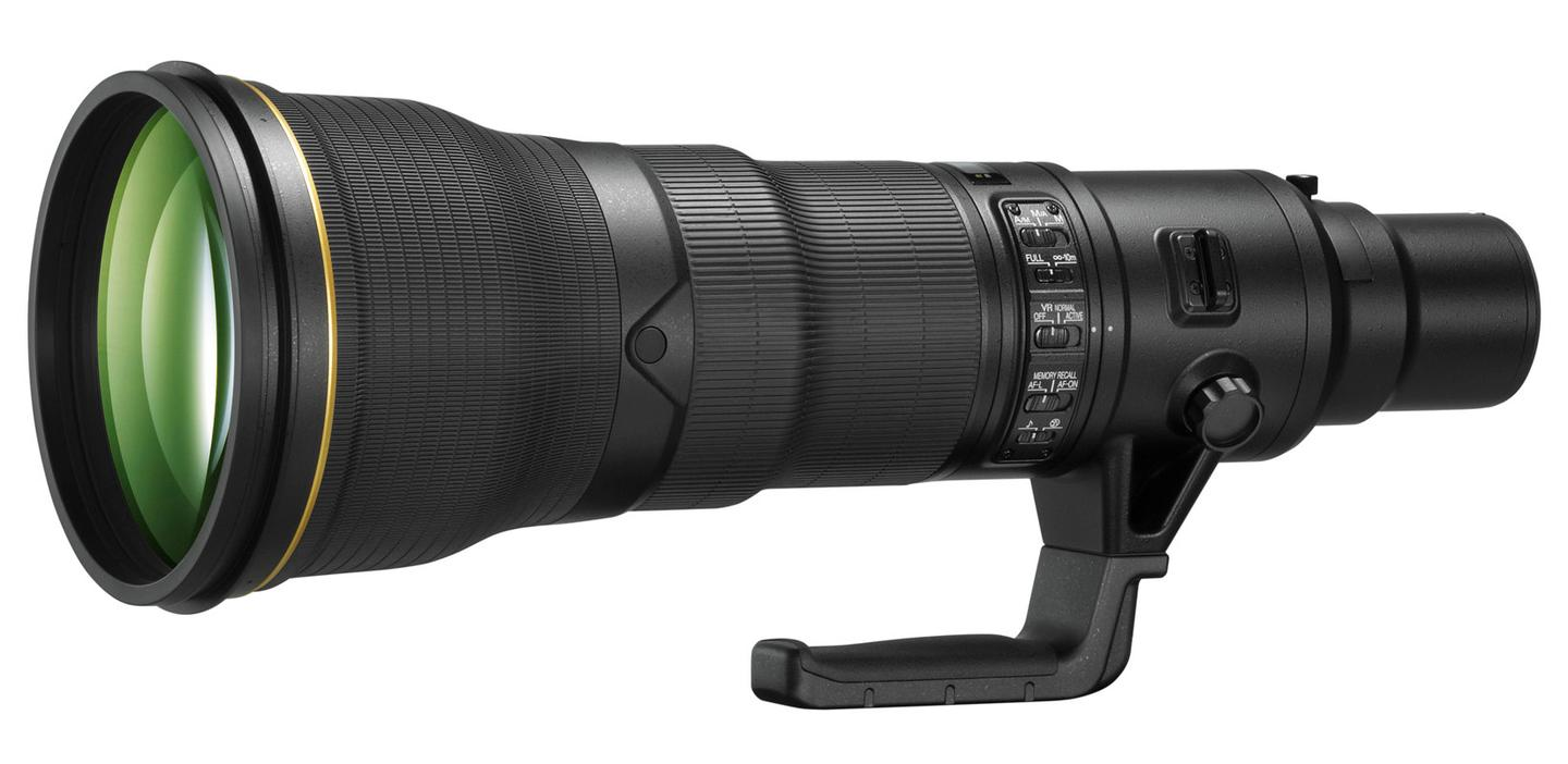 The AF-S NIKKOR 800mm f/5.6E FL ED VR is the first Nikon lens to be constructed with two fluorite glass elements