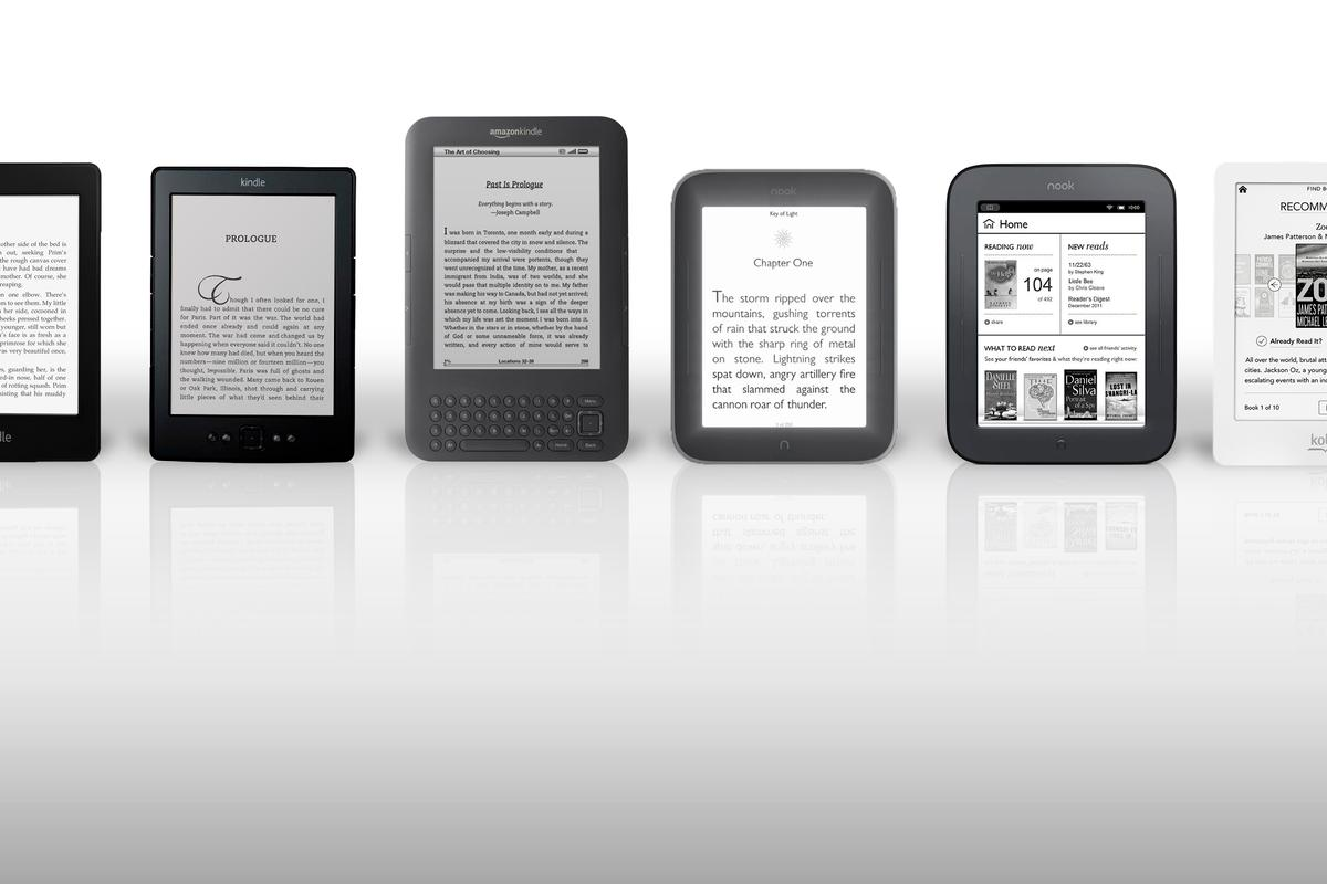 How do the best eReaders from Amazon, Barnes & Noble, and Kobo stack up?