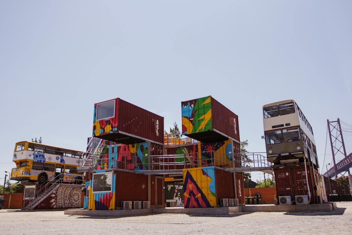 The Village Underground Lisboa project opened its doors in May (Photo: Village Underground Lisboa)