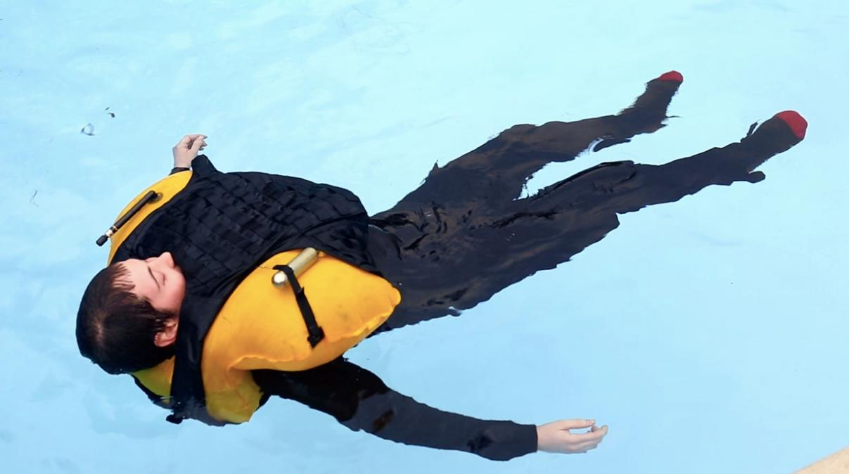 The Floatation Armor Torso System is a bulletproof vest that floats