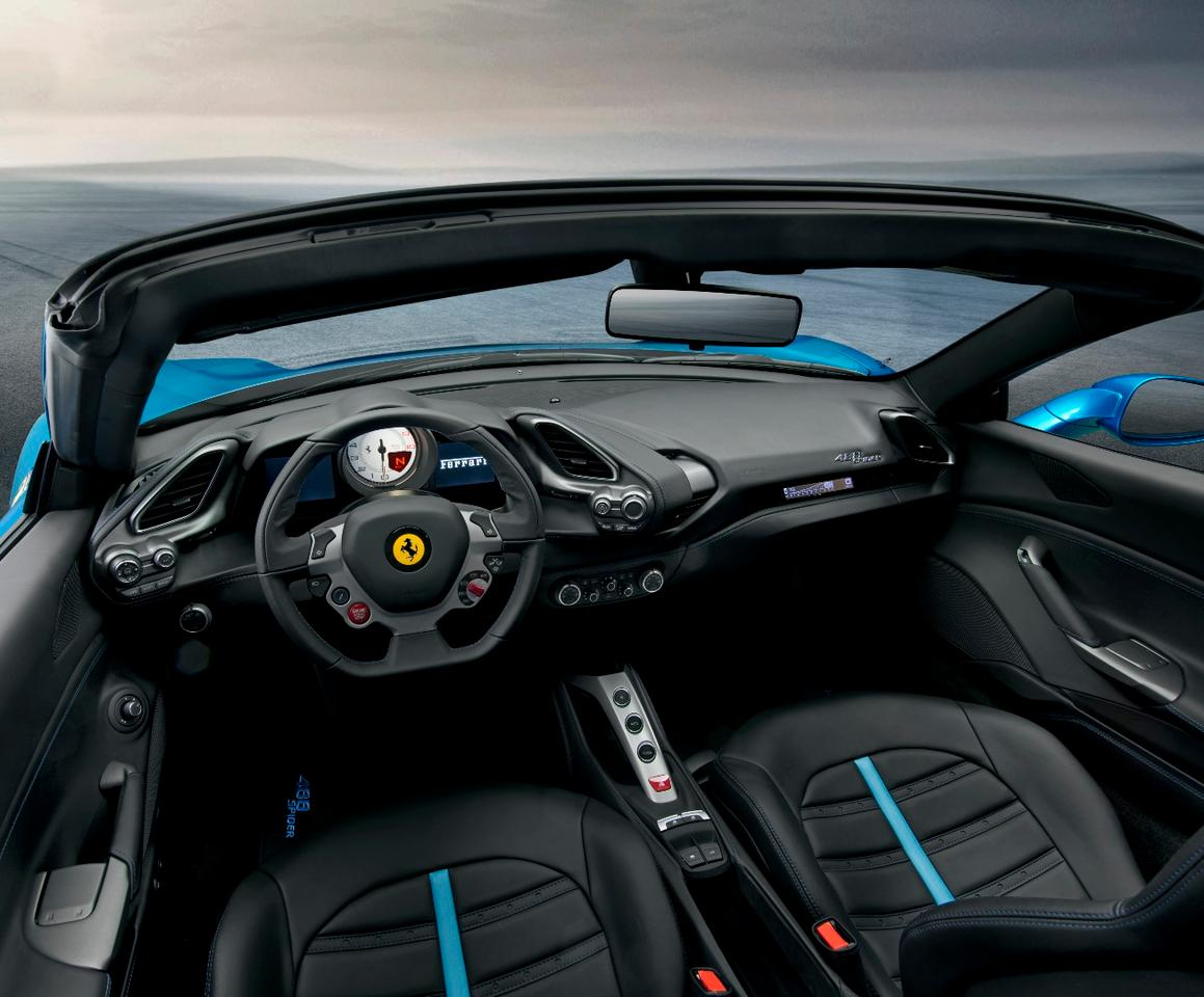A look inside Ferrari's newest convertible