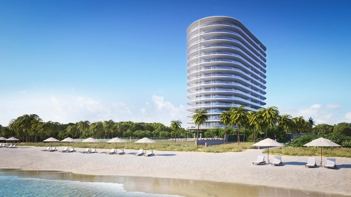 Rising to a height of 200 ft (60 m) Eighty Seven Park will be located on Miami Beach's northern city limits
