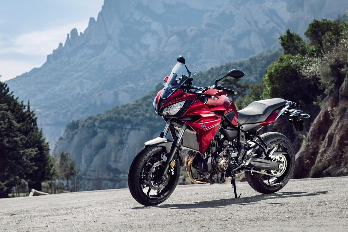 Yamaha introduced the Tracer 700 in exactly the same fashion as it did with the 900 cc model