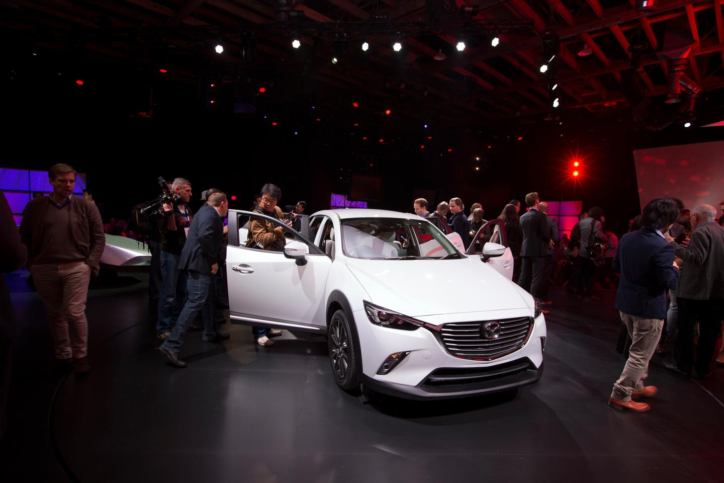 Mazda's CX-3 debuted at the Los Angeles Auto Show