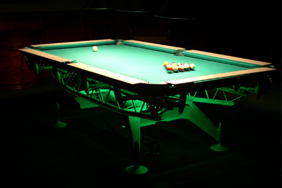 The Dynasty Billiard table - style at a price