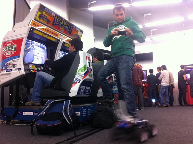 Artica's ingenious Sega Rally Championship hack (Photo: Artica)