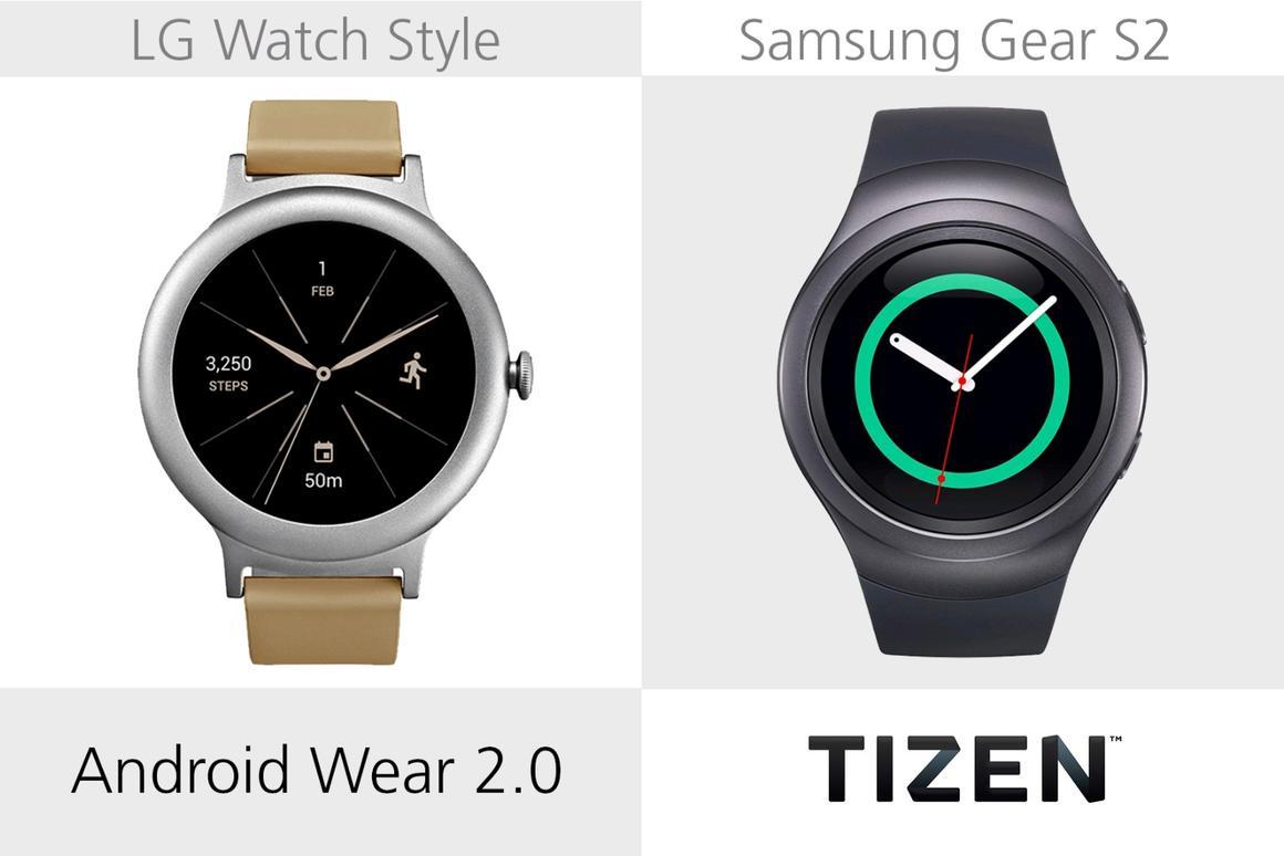 LG Watch Style vs  Samsung Gear S2