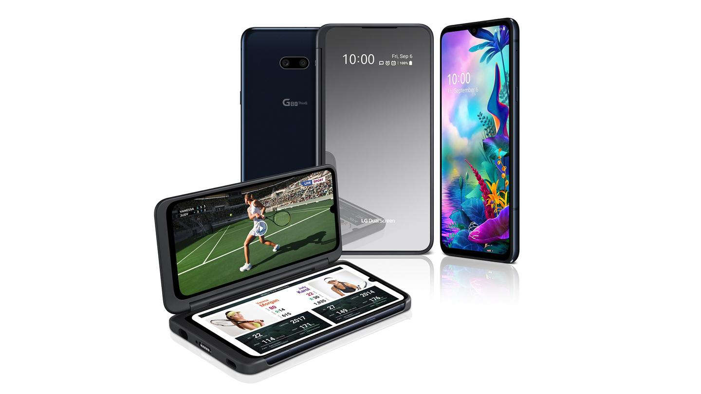 The LG G8X ThinQ is a smartphone in its own right, but its dual-screen accessory sets it apart