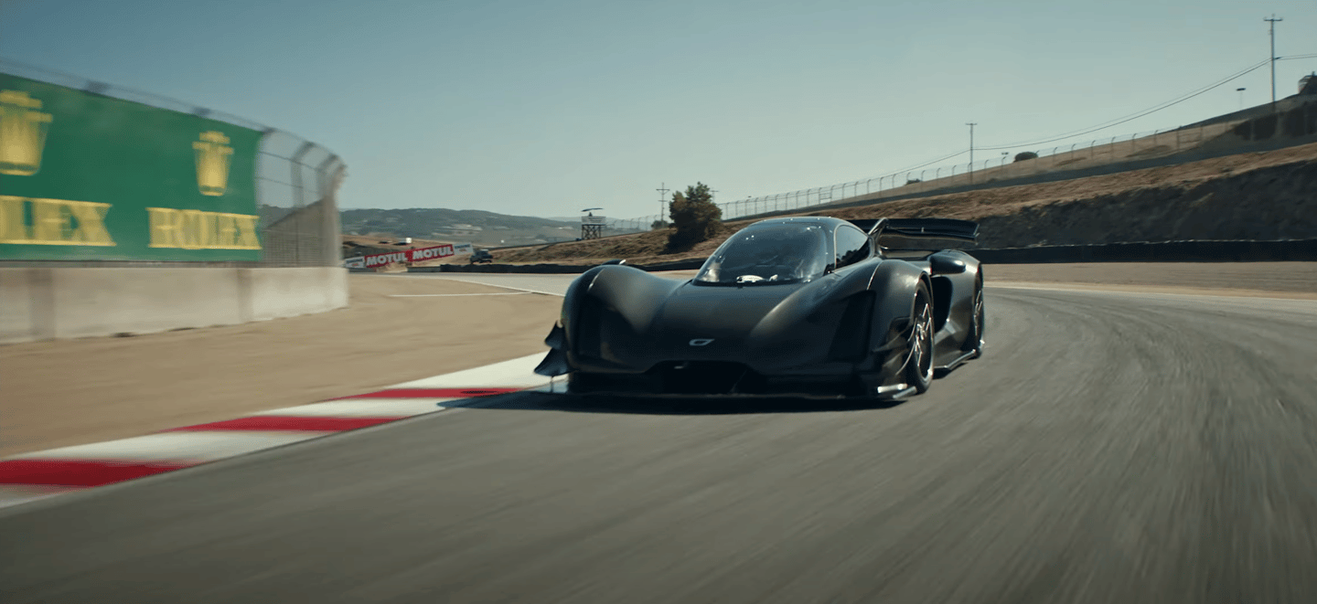 The Czinger 21C hybrid hypercar has beaten the McLaren Senna's production car lap record around Laguna Seca by more than two seconds