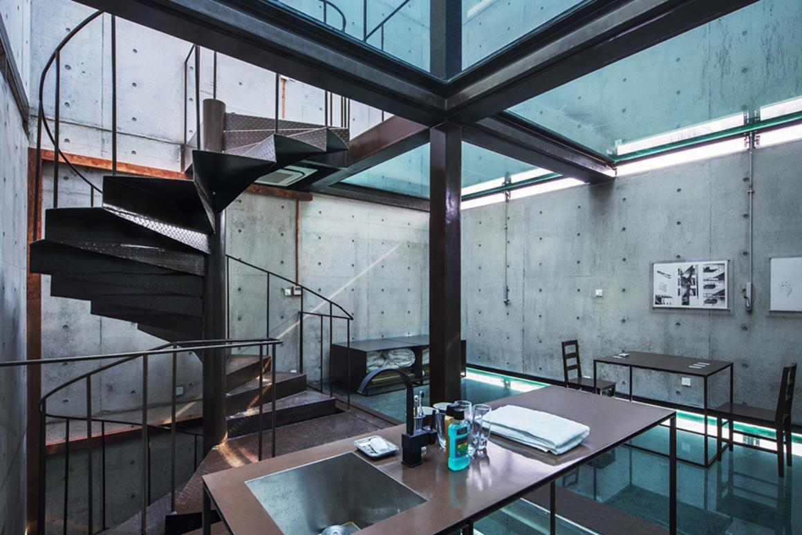 The four-story Vertical Glass House, by architectural firm Atelier FCJZ (Photo: Atelier FCJZ)