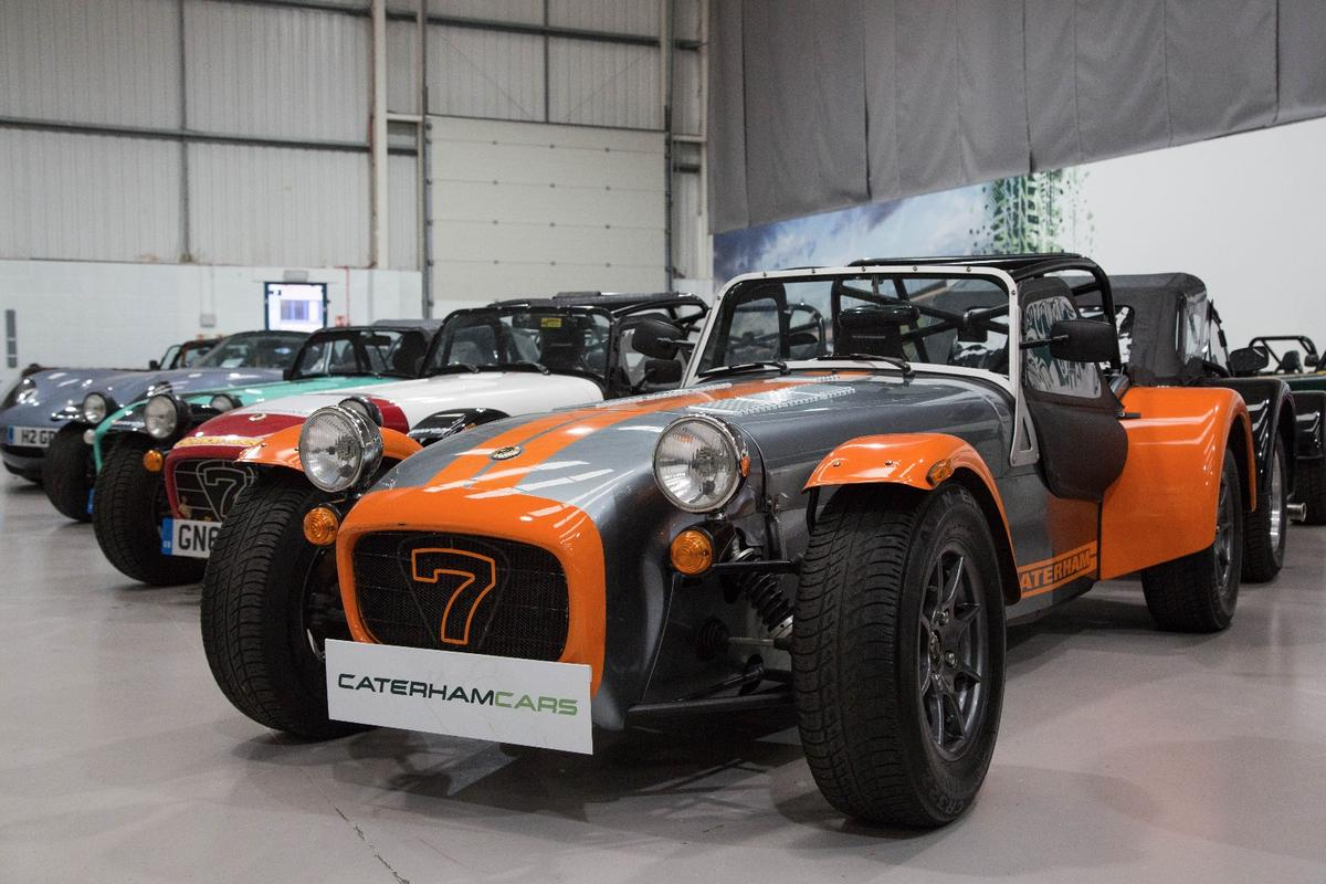 New Atlas checked out the Caterham showroom in Crawley, UK