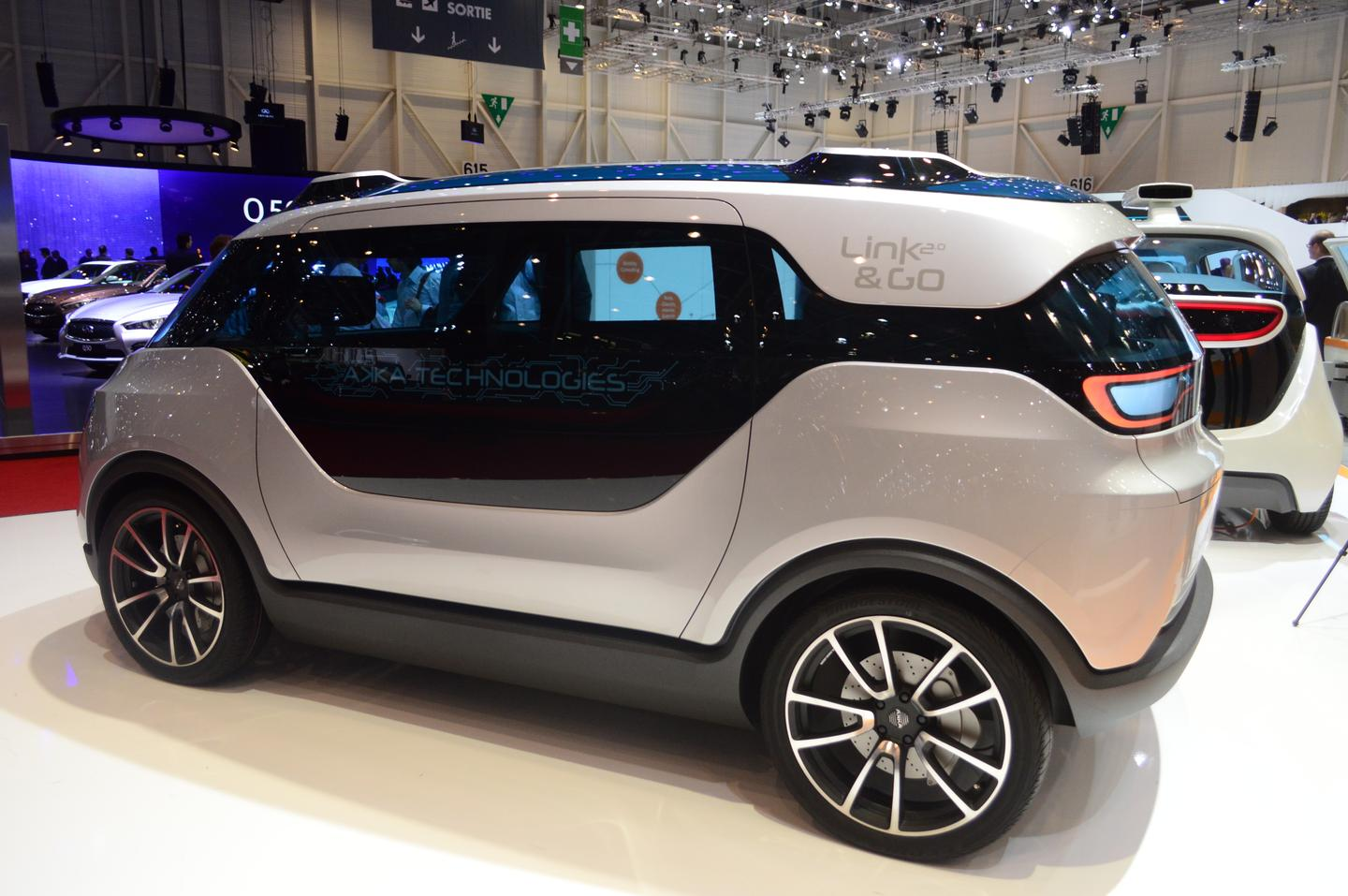 The Link & Go 2.0 debuts at the 2014 Geneva Motor Show