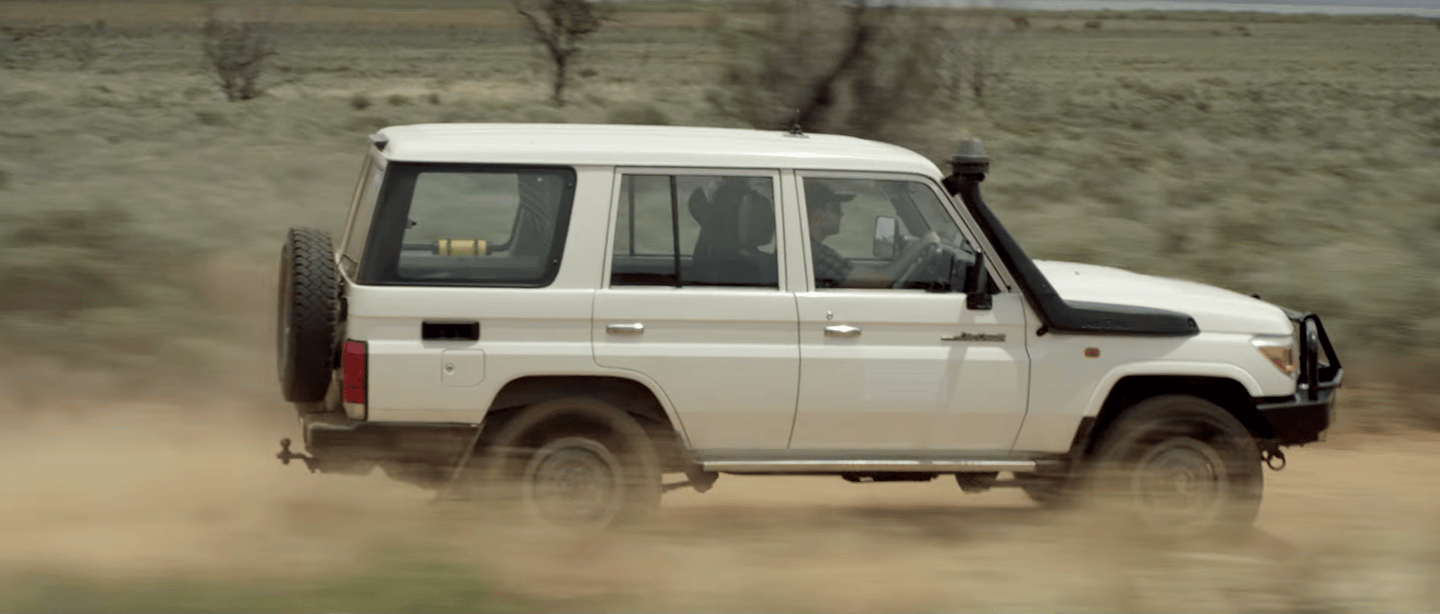 Toyota LandCruisers, a popular vehicle in the Australian Outback, will become roaming communications hotspots to keep people in touch in case of emergencies