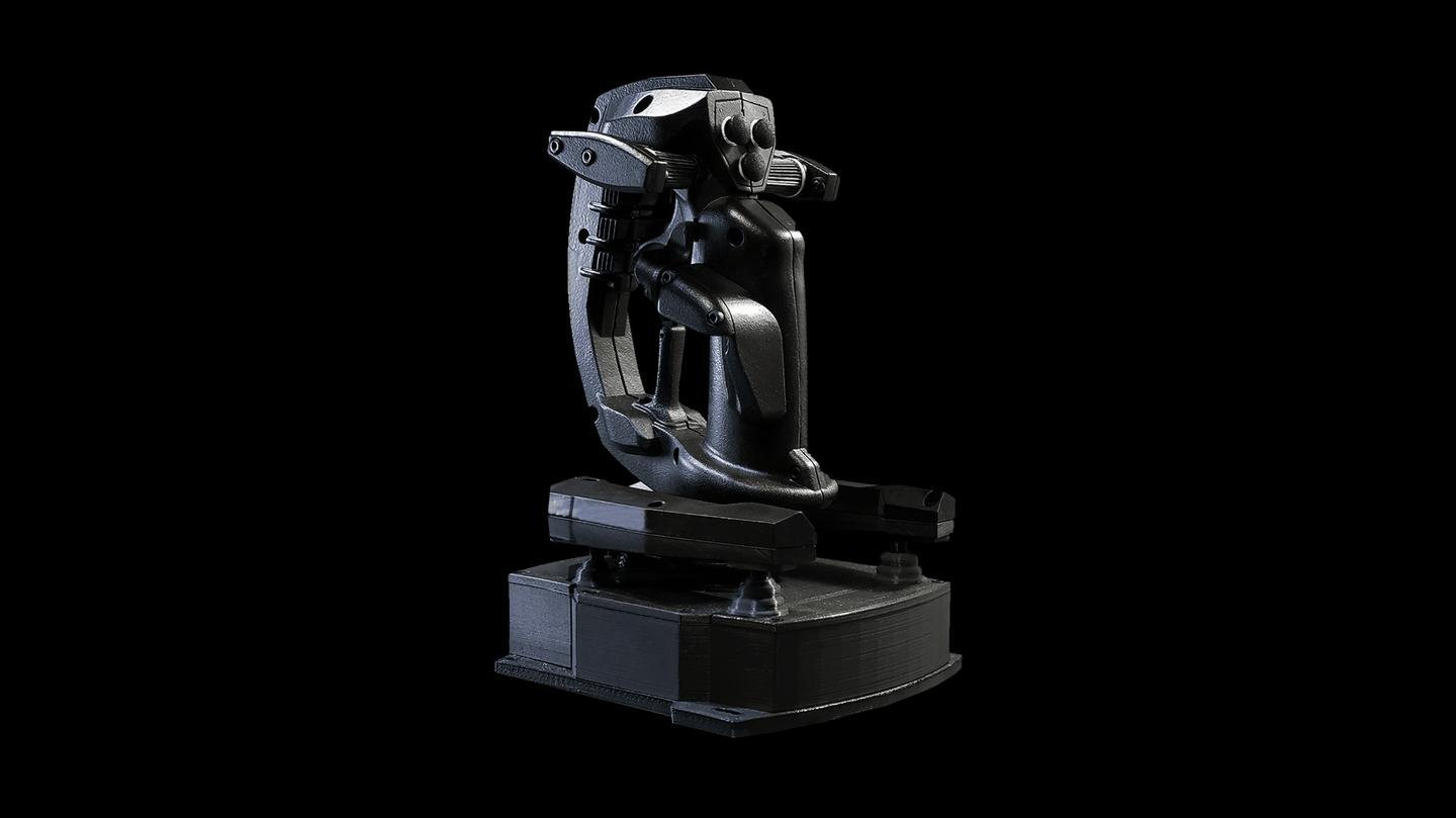 Sublight Dynamics is currently funding the 6DOF joystick through Kickstarter, where it's already raised over US$17,000 of its $40,000 goal